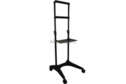 Abtus Light Weight & Portable TV Stand Black for 37 inches - 50 inches TV  : TS104-BLK