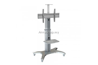 North Bayou Portable Aluminum TV Stand ( LED/LCD/Plasma ) Mount upto 40 inches-60 inches - TS112-SVR