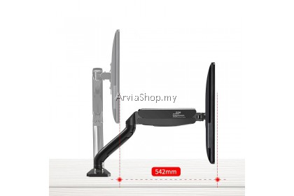 Monitor Arm Stand Full Motion Swivel Monitor Arm Gas Spring - DM90-BLK