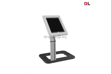 """Brateck Universal Anti-theft Tablet Desk Stand Up to 9.7""""-10.1""""-TSPAD15-02-WHT"""