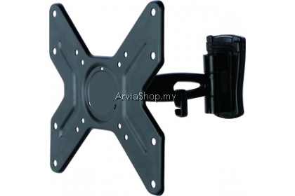 "Loctek Full Motion LED/LCD TV Bracket Mount Upto 14""~ 32"" - WLB342"
