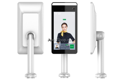 Automatic Temperature Scanner with Face Recognition with stand