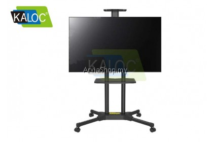 Kaloc Portable TV Stand Height Adjustable TV Mounts 32 To 58 Inch - TS131A-BLK